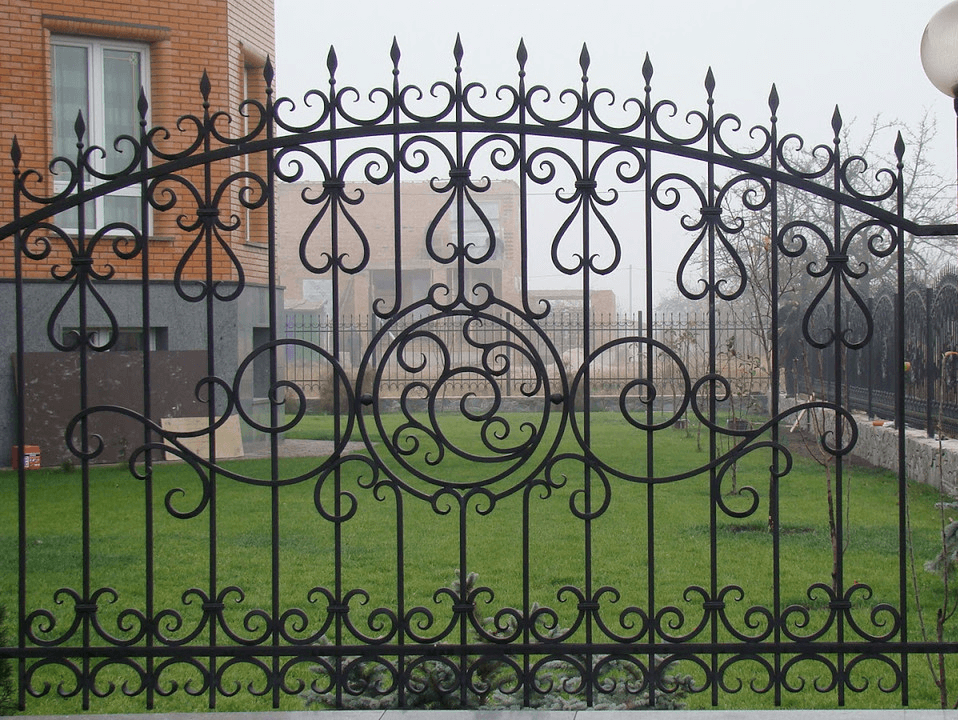 Цены на кованые заборы в Орехово-Зуево